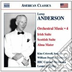 Musica per orchestra, vol.4 cd musicale di Leroy Anderson