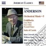 Anderson Leroy - Musica Per Orchestra, Vol.5 cd musicale di Leroy Anderson