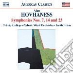 Sinfonia n.7, n.14, n.23 cd musicale di Alan Hovhaness