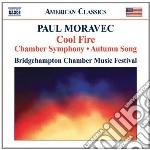 Chamber symphony cd musicale di Paul Moravec