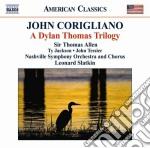 A dylan thomas trilogy cd musicale di John Corigliano