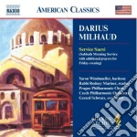 Service sacr???? cd musicale di Darius Milhaud