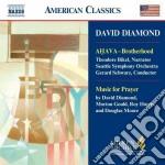 Diamond David - Ahava - Brotherhood, Music For Prayer cd musicale di David Diamond