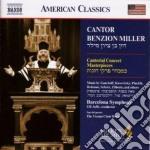 Cantorial concert, i capolavori cd musicale di Cantor benzion mille