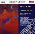Cantata of the bitter herbs, jephta (rha cd musicale di Ernst Toch