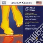A singing of angels, ...and david danced cd musicale di Charles Davidson