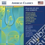 Psalms of joy and sorrow cd musicale