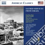 Sacred services from israel cd musicale