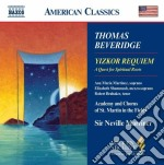 Yizkor requiem cd musicale di Thomas Beveridge