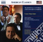 Traditional cantorial and concert favori cd musicale