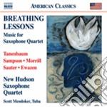 Breathing Lessons - Musica Per Quartetto Di Sassofoni cd musicale di Miscellanee
