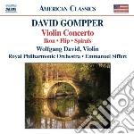 Concerto per violino, ikon, flip, spiral cd musicale di David Gompper