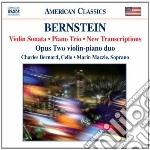 SONATA PER CLARINETTO (ARR.TERWILLIGER),  cd musicale di Leonard Bernstein
