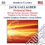 Jack Gallagher - Diversions Ouverture, Berceuse, Sinfonietta, Symphony In One Movement cd musicale di Jack Gallagher