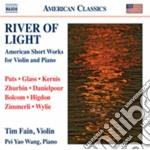 River Of Light - Brevi Brani Americani Per Violino E Pianoforte cd musicale di Miscellanee