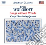 SONGS WITHOUT WORDS (18 DIVERTIMENTI PER  cd musicale di Bruce Wolosoff
