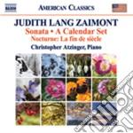 Sonata - a calendar set - 12 virtuosic p cd musicale di Zaimont judith lang
