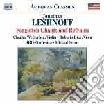 Leshnoff Jonathan - Sinfonia N.1  Doppio Concerto Per Violino, Viola E Orchestra  Rush cd musicale di Jonathan Leshnoff
