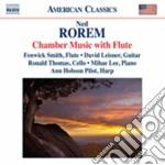 Musica da camera con flauto cd musicale di Ned Rorem