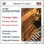 Chasing light..., concerto per percussio cd musicale di Joseph Schwanter