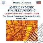 American music for percussion, vol.2 cd musicale di Miscellanee