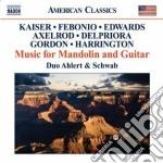 Musica per mandolino e chitarra cd musicale di Miscellanee