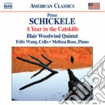A year in the catskills cd musicale di Peter Schickele