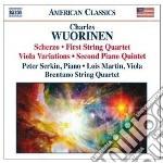 Musica da camera cd musicale di Charles Wuorinen
