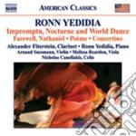 Impromptu, nocturne and world dance, far cd musicale di Ronn Yedidia