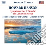Sinfonie (integrale) vol.1: sinfonia n.1 cd musicale di Howard Hanson