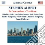 In concordiam, treestone cd musicale di Stephen Albert