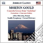 Concerto grosso from audubon, formations cd musicale di Morton Gould