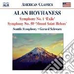 Sinfonia n.1 'exile' op.17 n.2, fantasy cd musicale di Alan Hovhaness