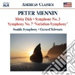 Moby dick-concertato per orchestra, sinf cd musicale di Peter Mennin