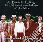Fundamental destiny cd musicale di ART ENSEMBLE OF CHIC