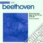 Ultima: sonate 8 14 17 21 23 & 29 cd musicale di Beethoven\buchbinder