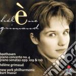 Beethoven - Masur-grimaud-nyp - Concerto N.4-sonate 109-110 cd musicale di BEETHOVEN\MASUR-GRIM