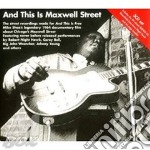 And this is maxwell street cd musicale di Artisti Vari