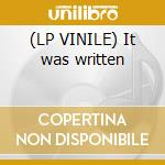(LP VINILE) It was written lp vinile