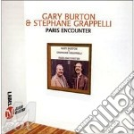 Paris encounter - grappelli stephane burton gary cd musicale di Gary burton & stephane grappel