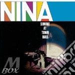 (LP VINILE) Nina at town hall lp vinile di Nina Simone
