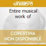 Entire musical work of cd musicale di S.e.m.ensemble