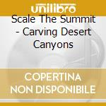 CARVING DESERT CANYONS                    cd musicale di SCALE THE SUMMIT