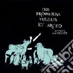 ODI PROFANUM  VULGUS ETARCEO cd musicale di MISS VIOLETTA BEAURE