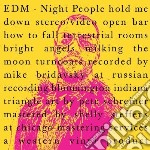 Night people cd musicale di Edm