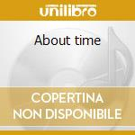 About time cd musicale di Steve Trovato