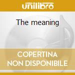 The meaning cd musicale