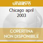 Chicago april 2003 cd musicale di String cheese incident