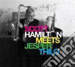 Meets jesper thilo cd musicale di Scott Hamilton