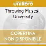 University cd musicale di Muses Throwing